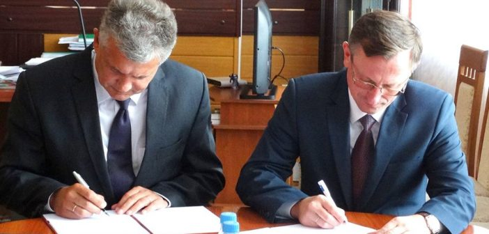Podpisanie umowy o partnerskiej współpracy międzyregionalnej.