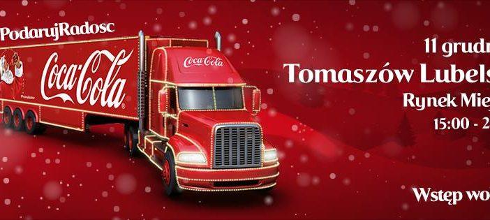 Nadjeżdża radość! Tomaszów Lubelski na świątecznej trasie ciężarówek Coca-Cola!