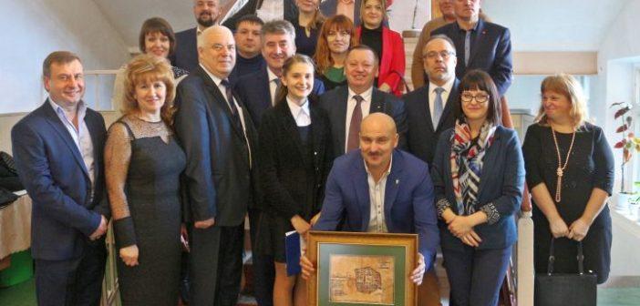Wizyta w miastach partnerskich na Ukrainie