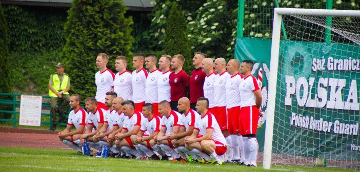Reprezentacja Straży granicznej Polski lepsza od Reprezentacji Policji Węgierskiej