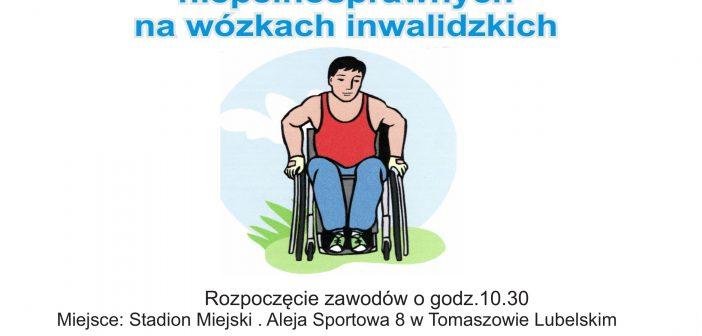 Wyścigi na wózkach inwalidzkich