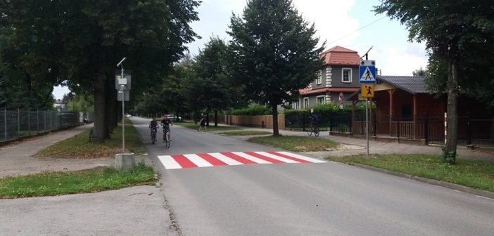 Aktywne przejścia dla pieszych.