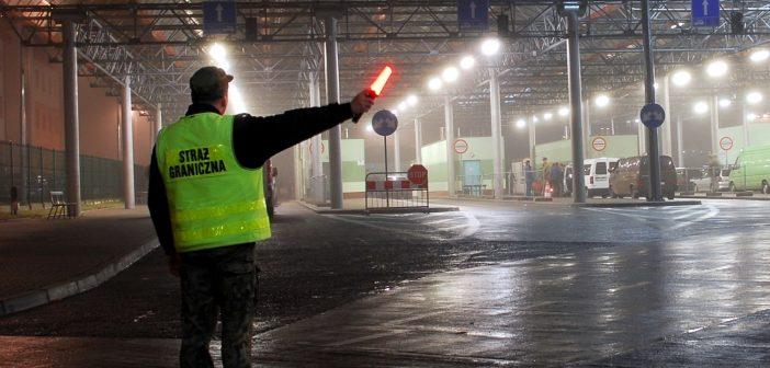 Utrudnienia w ruchu po przekroczeniu granicy w Hrebennem