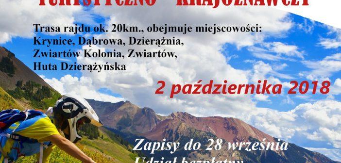 Rowerowy Rajd Turystyczno – Krajoznawczy
