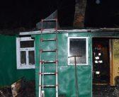 Tragiczny pożar domu w Łaszczowie.