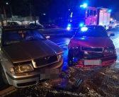 Niebezpieczne zdarzenie drogowe na ul. Lwowskiej – mężczyzna w szpitalu