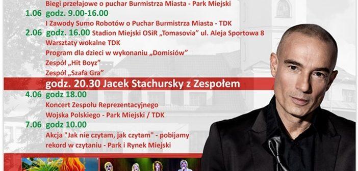 """Zapraszamy na """"Dni Tomaszowa"""" – Gwiazda Stachursky z Zespołem."""
