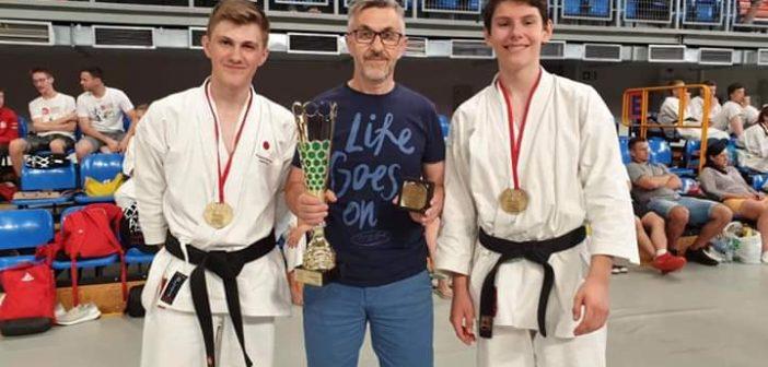 Aleksander Łapczyński i Piotr Sobczyński Mistrzami Polski karate