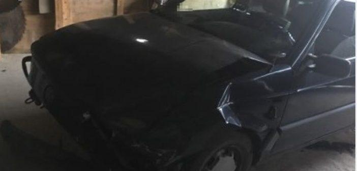 Spowodował kolizję, po czym ukrył pojazd w garażu, a sam uciekł do domu