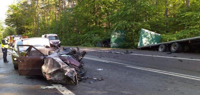 Tragiczny wypadek pomiędzy Bełżcem i Lubyczą Królewską