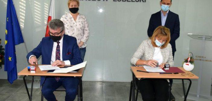 Podpisanie listu intencyjnego pomiędzy Miastem i Gminą Tomaszów Lubelski
