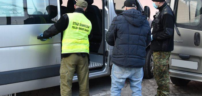 Hrebenne. Zatrzymano nielegalnego migranta z Iranu