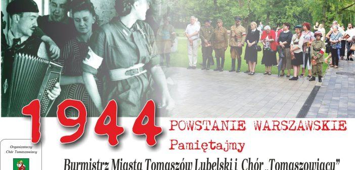 Pieśni Powstania Warszawskiego z Chórem Tomaszowiacy